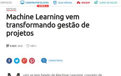 Machine Learning vem transformando gestão de projetos
